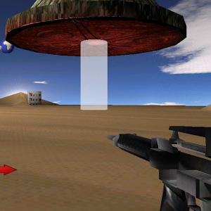 Alien Desert Counter Strike