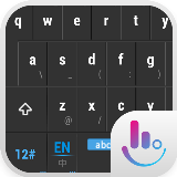Black Sky Emoji Keyboard