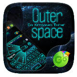 Outer Space Keyboard Theme