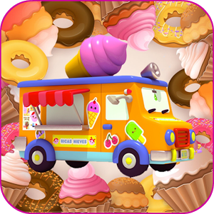 3D IceCream Truck Race