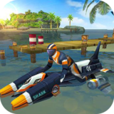 MotoBoat Traffic Racing Free