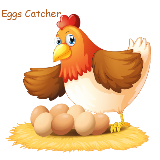 Eggs Catcher New