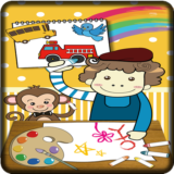 Learning Coloring Game Kids
