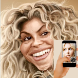 Caricatures, find  look-alike