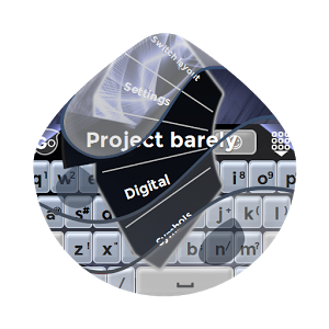 Project barely GO Keyboard