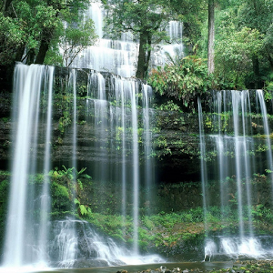 Waterfall 3D HD Wallpaper