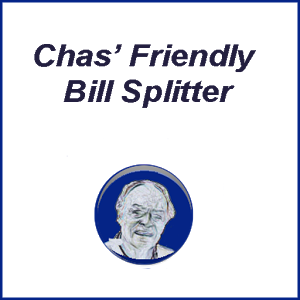 Chas' Friendly Bill Splitter