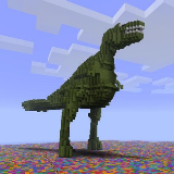 Dino Minecraft Wallpaper