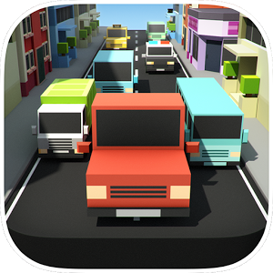 Block Pixel Traffic Racer 2015