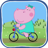 Kid's Bicycle Pepa Hippo