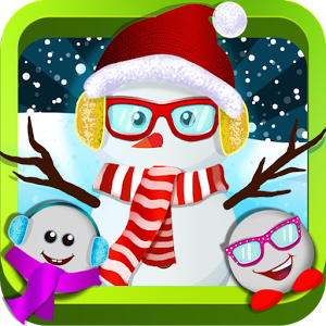 Snowman Dress Up Salon -Winter
