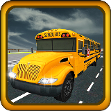 3D Real School Bus Duty Driver