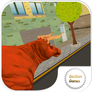 Angry Attack Bull Game 3D
