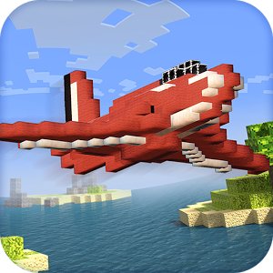 Blocky Cube Air Racer 3D