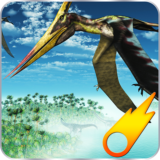 Crazy Dino Flight Simulation
