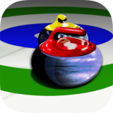 Curling With Planets 3D
