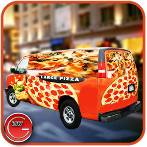 Pizza Delivery Van Simulator