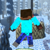 Steve Jump on Skyblocks