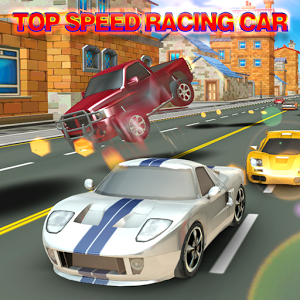 top speed racing car